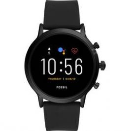 Fossil FTW4025 HR - Black silicone (FTW4025_Male)
