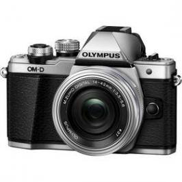 Olympus E-M10 Mark II + 14-42 KIT stříbrný