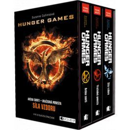 HUNGER GAMES – komplet 1.-3.díl - box | Suzanne Collins