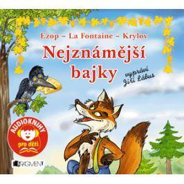 Nejznámější bajky – Ezop, La Fontaine, Krylov (audiokniha pro děti) | Jana Eislerová