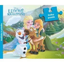 Ledové království - Kniha puzzle - Poskládej si pohádku   Walt Disney, Walt Disney