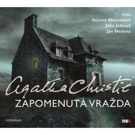 Zapomenutá vražda  (audiokniha) | Agatha Christie, Růžena Merunková, Jan Meduna, Jitka Ježková