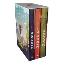 Ladislav Zibura: Sebrané pěškopisy (trojbox podepsaných knih + pexeso) | Ladislav Zibura
