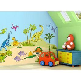 Forclaire Samolepící dekorace na zeď Dinosauři Rozměr - 1,6 m2
