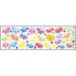 Forclaire Dekorace na zeď Motýli - 0,5 m2