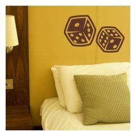 Forclaire Textilní dekorace na stěnu - kostky M