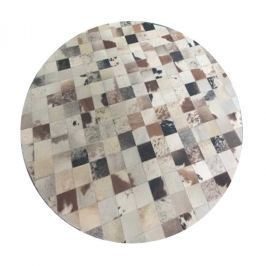 Tempo Kondela Luxusní koberec KOŽA typ10 150x150 - typ patchworku