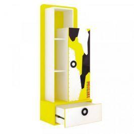 Lubidom Regál Aviator - bílý, černý, žlutý