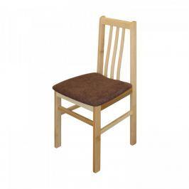 Idea Jídelní židle MANDI buk/tmavě hnědá