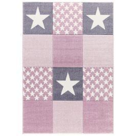 Forclaire Dětský koberc STARWALK růžový 120x180 cm