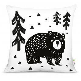 Forclaire Polštář Medvěd v lese