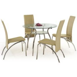 Halmar Skleněný stůl Adam - II. jakost