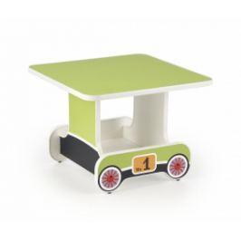 Halmar Dětský stoleček Lokomo zelený