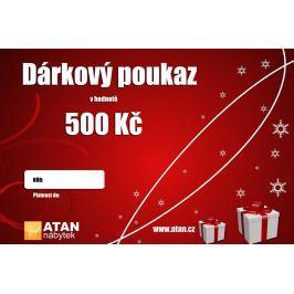 ATAN Vánoční dárkový poukaz v hodnotě 500 Kč Elektronický