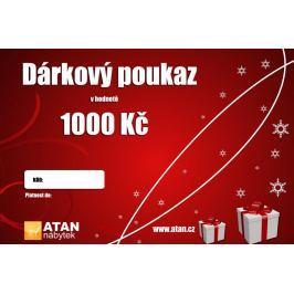 ATAN Vánoční dárkový poukaz v hodnotě 1000 Kč Elektronický