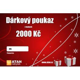 ATAN Vánoční dárkový poukaz v hodnotě 2000 Kč Elektronický