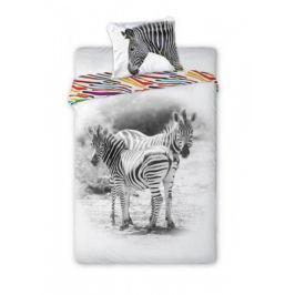 Forclaire Dětské povlečení Zebra