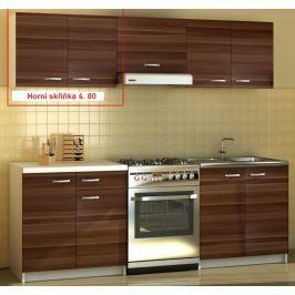 ATAN Kuchyňská skříňka Sonia - horní skříňka š. 80 cm - II. jakost