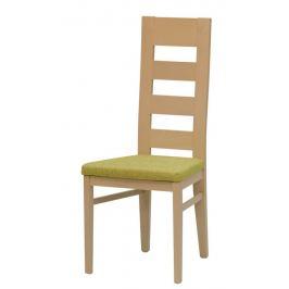 ATAN Jídelní židle Falco - dubové moření, Mystic Rosso 56 - II.jakost
