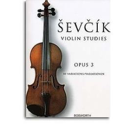 MS Otakar Sevcik: Violin Studies - 40 Variations Op.3
