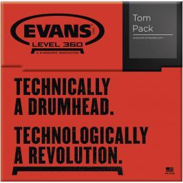 Evans Genera G2 Rock Coated set