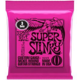 Ernie Ball Nickel Wound Super Slinky 3 Pack