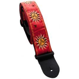 Perri's Leathers 7010 Jacquard Red Suns