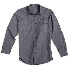 Taylor Men's LS Chambray Shirt Gray M