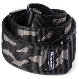 Dunlop Classic Strap Camo Gray