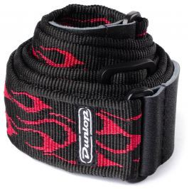 Dunlop Classic Strap Flame Red