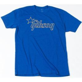Gibson Star T-Shirt Blue S