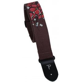 Perri's Leathers 7038 Screen Printed Cotton Poppy Brown