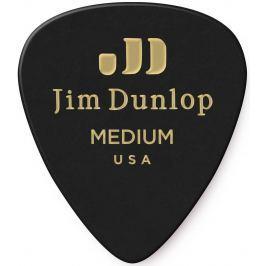 Dunlop Celluloid Black Medium