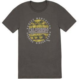 Fender California Coastal Yellow Waves T-Shirt S