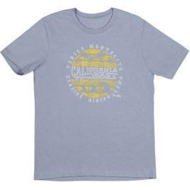 Fender California Coastal Yellow Waves T-Shirt Blue XXL