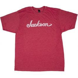 Jackson Logo T-Shirt Heather Red S