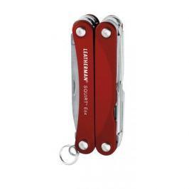 Multitool Leatherman Squirt ES4 Barva: červená