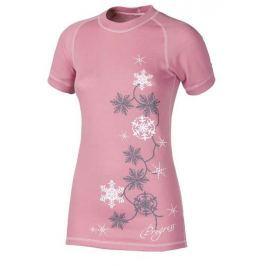 Dámské triko Progress DF NKRZ Print Velikost: L / Barva: růžová