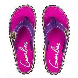 Dámské žabky Gumbies Islander Purple Signed Velikost bot: 38 / Barva: purple