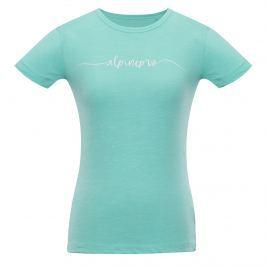 Dámské triko Alpine Pro Rozena 5 Velikost: L / Barva: světle modrá