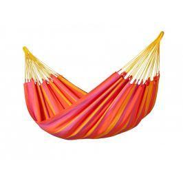 Houpací síť La Siesta Sonrisa Single Barva: červená/oranžová