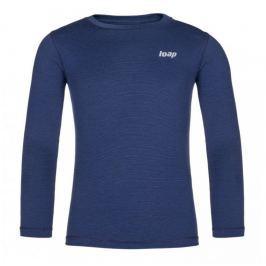 Dětské funkční triko Loap Pitta Dětská velikost: 134-140 / Barva: modrá