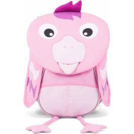 Vystavený dětský batoh Affenzahn Finja Flamingo small