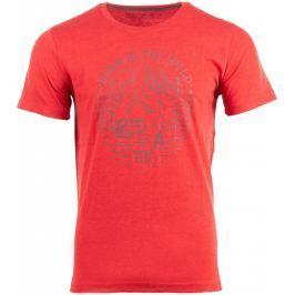 Pánské triko Alpine Pro Emen Velikost: L / Barva: červená