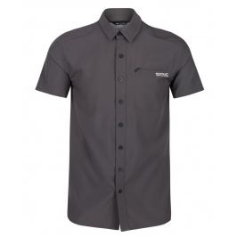 Pánská košile Regatta Kioga II Velikost: M / Barva: šedá