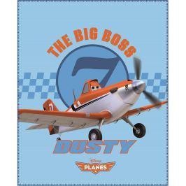 CTI Fleecová deka Planes Dusty 110x140 cm