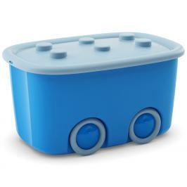 KIS Úložný box Funny - modrý, 46 l