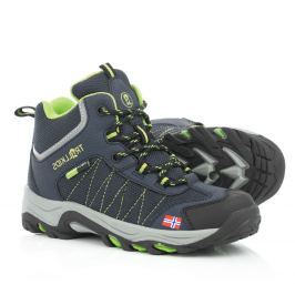 Trollkids Chlapecká outdoorová obuv Kids Fjell Hiker - modrá