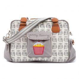 Pink Lining Přebalovací taška YUMMY MUMMY, sovy