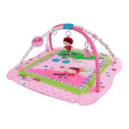 Sun Baby Hrací deka, růžová s holčičkou